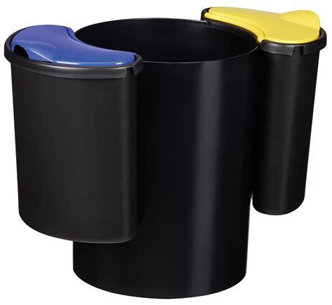 poubelle bureau design poubelle de bureau tri selectif 60402 bureau idées