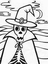 Halloween Coloring Skeleton Printables Pages Printable Activity Colors Children Clipartmag Kindergarten Tags Colorful Getcoloringpages Popular sketch template