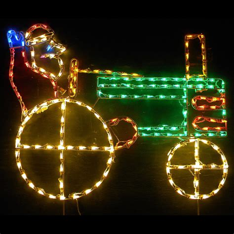 outdoor lighted christmas ornaments led outdoor christmas decorations lighted santa claus
