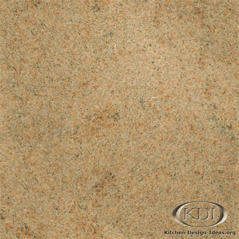 desert gold granite kitchen countertop ideas