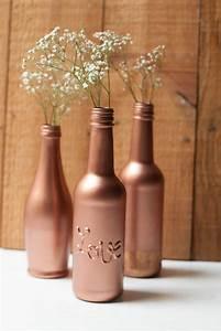 Bombe Peinture Cuivre Rose : noceday r cup des bouteilles pour votre d co de mariage ~ Dailycaller-alerts.com Idées de Décoration