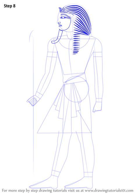 learn   draw  pharaoh christianity step  step