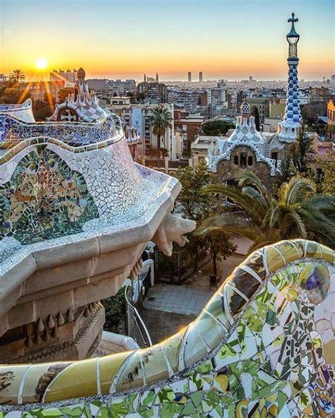 Parc Güell, Barcelona, Spain | Europe vacation, Places ...