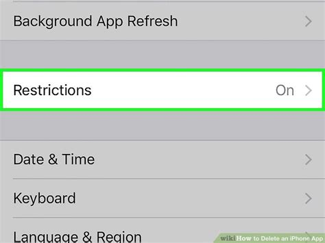 how to delete an iphone app 10 steps with wikihow