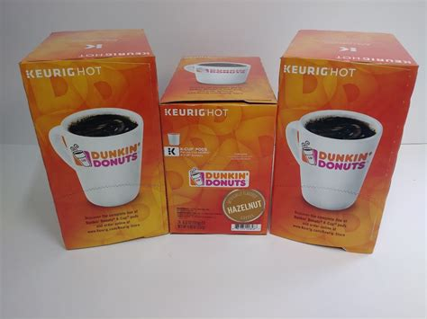 Arrives by wednesday, dec 30. Dunkin' Donuts Coffee K-Cup Pods, Hazelnut 24ct For Keurig Brewers 24ct! - A&M Office Supply