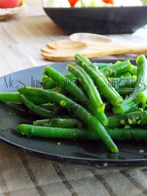 haricots verts cuisin駸 haricots verts a la persillade le cuisine de samar