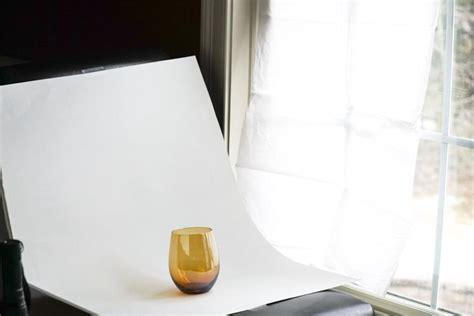 diy natural lighting  product photography  steps