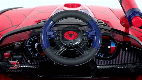 spider man  super car product video youtube