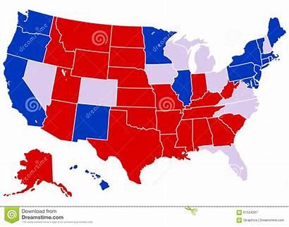 Staten Verenigde Electoral Map United States Politics