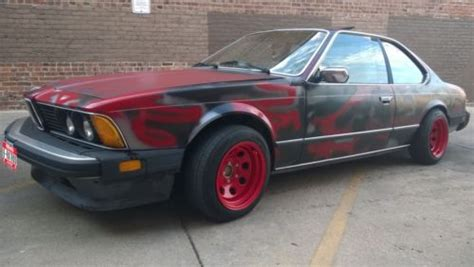 Find Used Bmw 635 Csi, 1985 Coupe, Rust Free, 6 Series