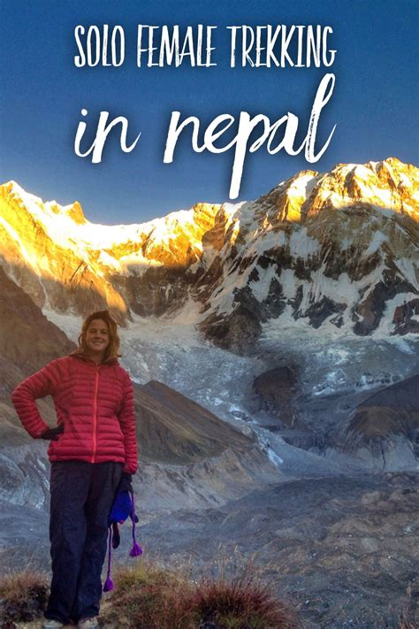 Female Solo Trekking in Nepal - Mountains with Megan ...