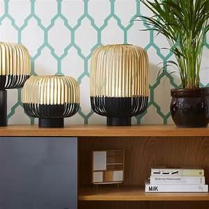 Lampe à Clipser : lampe poser bamboo light bambou noir h39cm forestier luminaires nedgis ~ Teatrodelosmanantiales.com Idées de Décoration