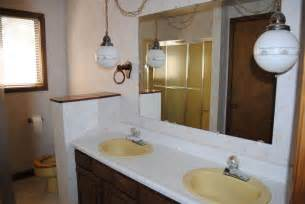 vintage bathroom lighting ideas 1970s vintage bathroom lighting house photos