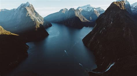 milford sound  zealand   zealand wallpapers