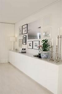 Deco Couloir Blanc : d co salon meuble chaussure ikea blanc dans le couloir ~ Zukunftsfamilie.com Idées de Décoration