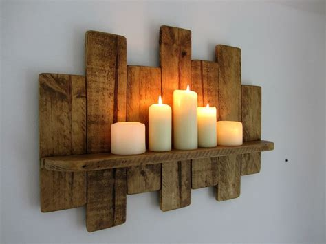 details  cm reclaimed pallet wood shelf rustic