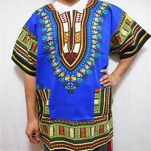 Dashiki African T-Shirt Traditional Boho Hippie Poncho ...