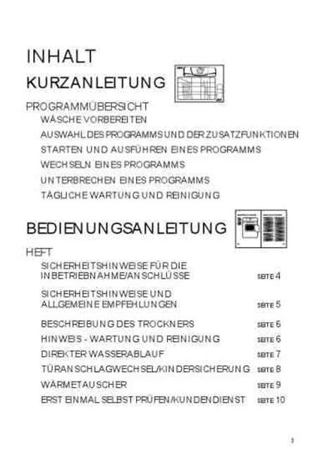 wäschetrockner wärmepumpe siemens bauknecht tk care 17b bkw 195 164 schetrockner bedienungsanleitung im pdf format kostenlos 14