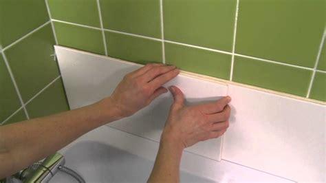 recouvrir carrelage cuisine panneaux muraux salle de bain castorama idées déco salle