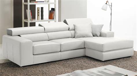canapé d angle haut de gamme canapé d 39 angle réversible en cuir blanc haut de gamme
