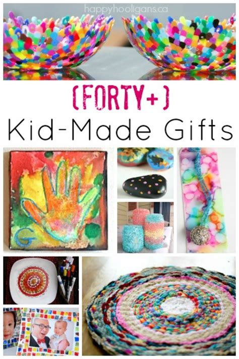 gifts to make 40 gifts kids can make that grown ups will really use happy hooligans