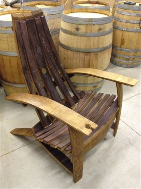 wine barrel chair plans  woodworking