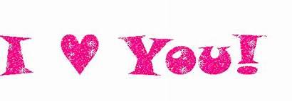 Pink Glitter Text Heart Graphic Meme Graphics
