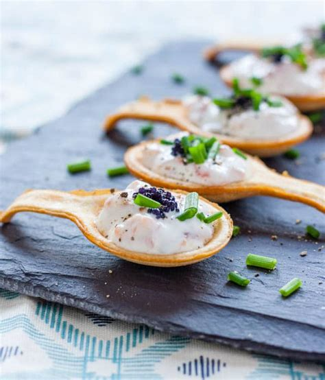 christmas shopping pic recipe simple delicious smoked salmon canapés fuss