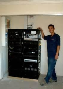 Home Network Server Rack