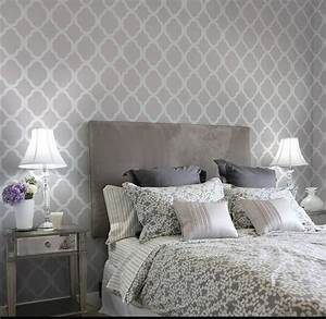 Grey on gray bedroom decor just decorate