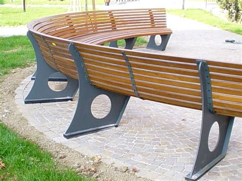 curved bench seating curved outdoor bench and their