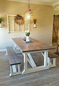 60, Beautiful, Farmhouse, Dining, Room, Table, And, Decorating, Ideas
