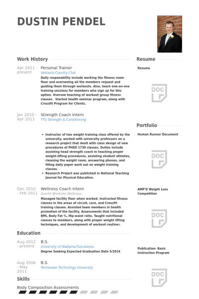Personal Trainer Resume Exles by Personal Trainer Resume Template Business