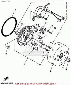 Yamaha Yfm80g 1995 Generator