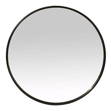 cercle de cuisine miroir rond mural en fer noir boudoir grand