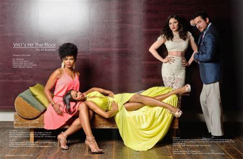 the cast of hit the floor for regard magazine oh no they