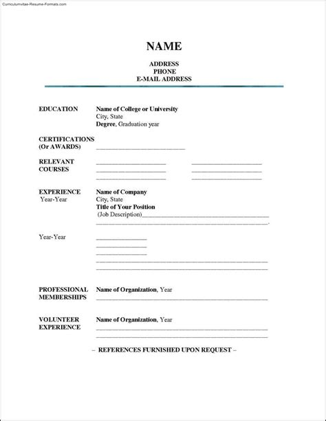 high school resume template microsoft word free sles