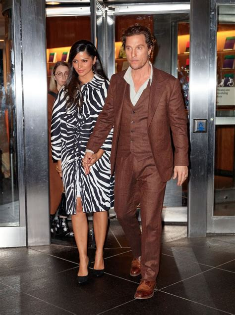 Matthew McConaughey and Camila Alves at Serenity Screening ...
