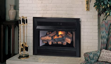 gas fireplace inserts with blower vci3032 superior vent free gas fireplace insert with logs
