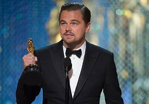 Leonardo DiCaprio reçoit enfin un Oscar - Best of 2016 ...