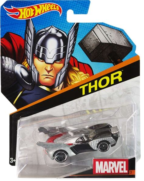 Hot Wheels Marvel Character Cars Thor