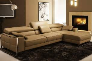 Light Brown Leather Sofa Living Room Ideas by 12 Fantastic Leather Sectional Couches Designs And Ideas