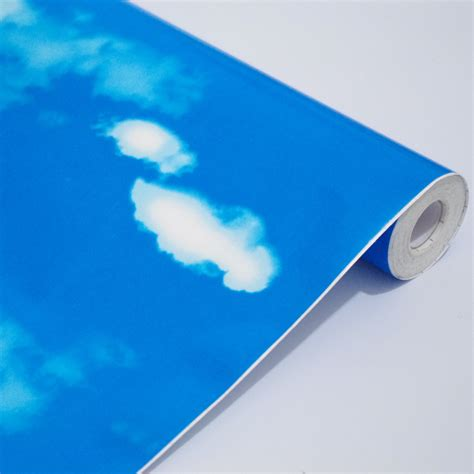cmm pvc wallpaper blue sky bedroom