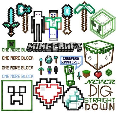 minecraft embroidery design sew much sew stylin sew fast present sewing