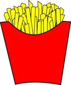 Mcdonalds French Fries Clipart