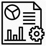 Icon Reporting Data Tools Business Report Software