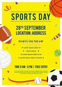 sports for background for sports day wwwsportssrccom With sports day poster template