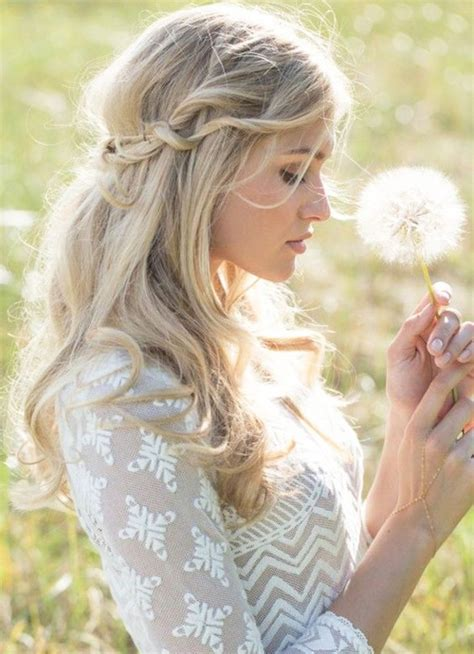 casual wedding hairstyles  long hair fashionspickcom