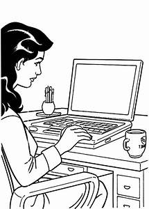 Business People Coloring Pages Printable. Business. Best ...