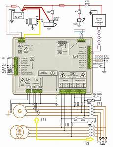 Amf Controller Wiring Diagram  U2013 Automatic Mains Failure